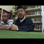 لقاء العلامة بنحمزة مع شعبة التربية الاسلامية بمعهد البعث الاسلامي